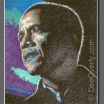 Obama #1 by Dee Overly