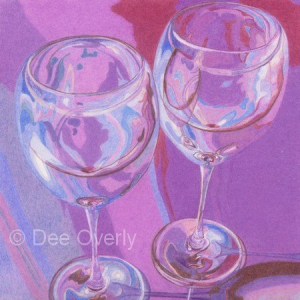 Purple Wine Classes by Dee Overly
